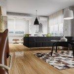 Mid-Century Modern Apartment-4