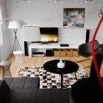 Mid-Century Modern Apartment-5