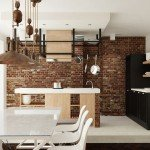 Two Apartments Merged In An Industrial Style-9