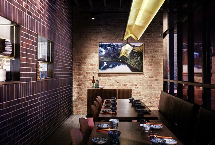 Restaurant With Handcrafted Facade Brick Wall And Graffiti (11) ...