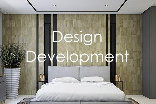 Contemporary design development in London