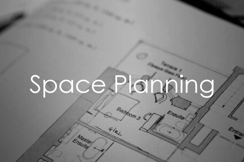 Interior design space planning services in London