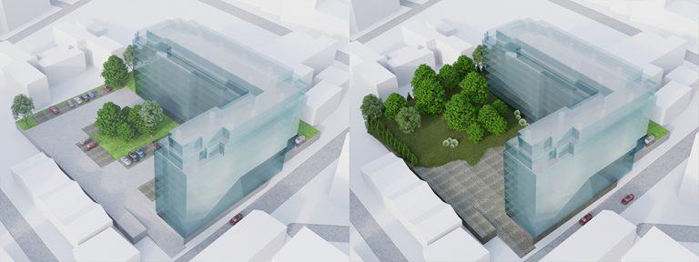 ARCHITECTURAL 3D SCALE MODELS - CONCEPT RESEARCH