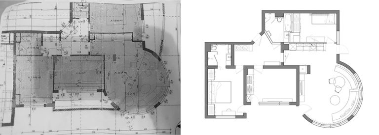 2D FLOOR PLANS - FROM HAND SKETCH TO PDF
