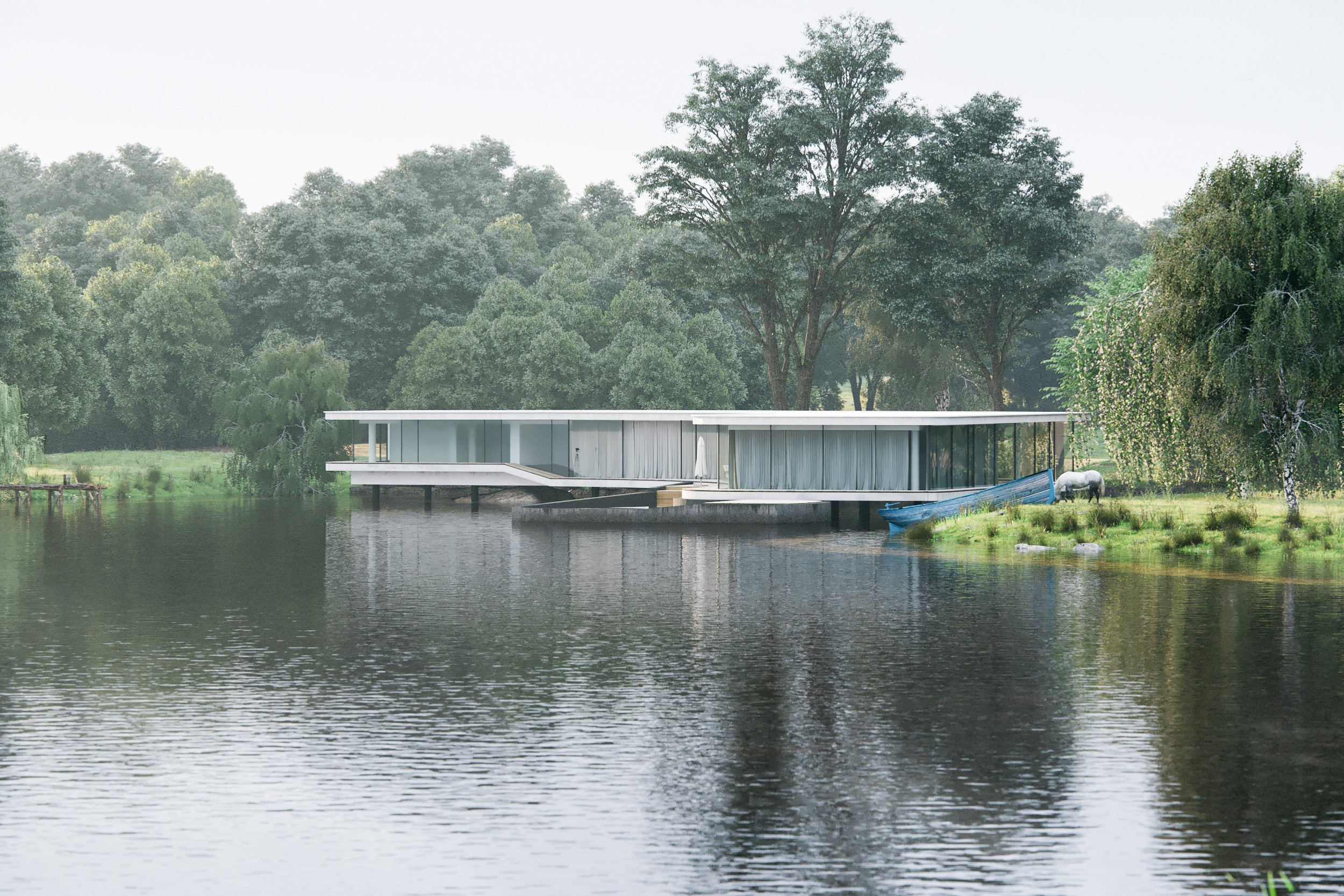 THE LAKE HOUSE'S CGI VISUALISATIONS