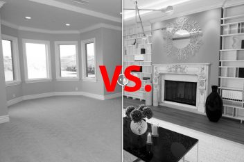 virtual staging vs traditional home staging