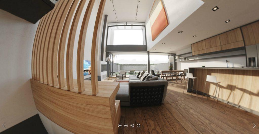 360 interactive panorama